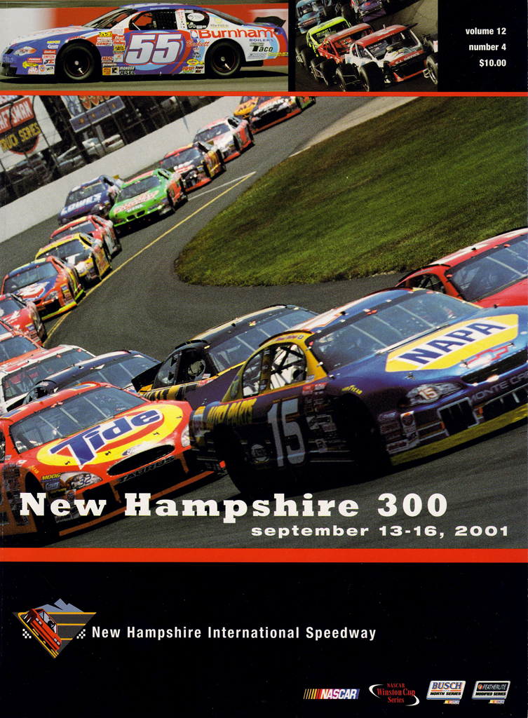 New Hampshire Motor Speedway The Motor Racing Programme