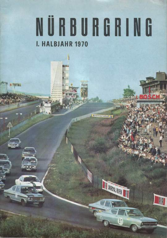 N 252 Rburgring Magazines The Motor Racing Programme Covers