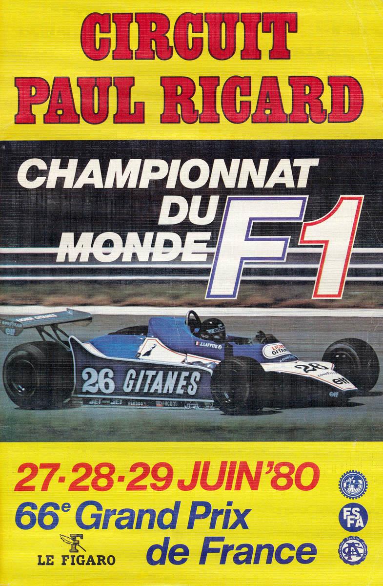 1980 formula 1 world championship programmes the motor racing programme covers project. Black Bedroom Furniture Sets. Home Design Ideas