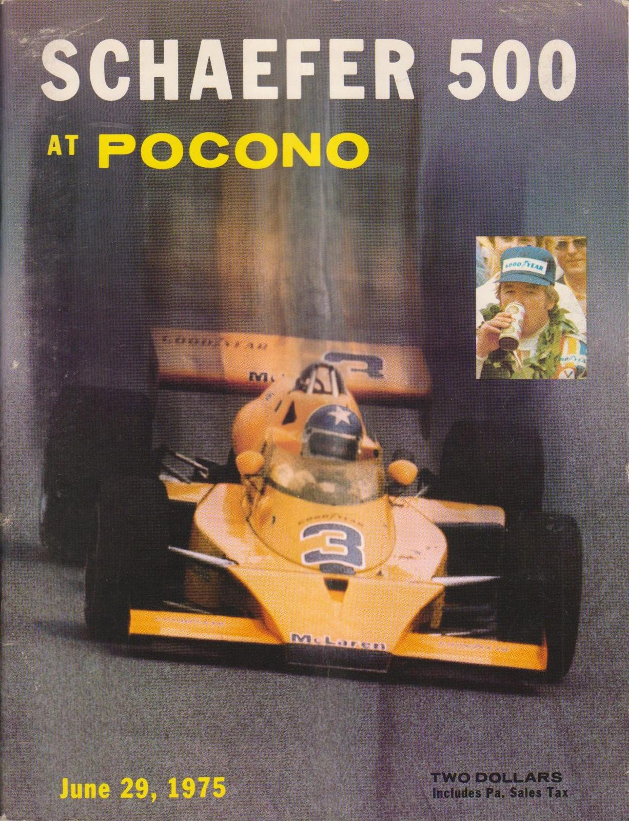 1975 Usac National Championship Programmes The Motor