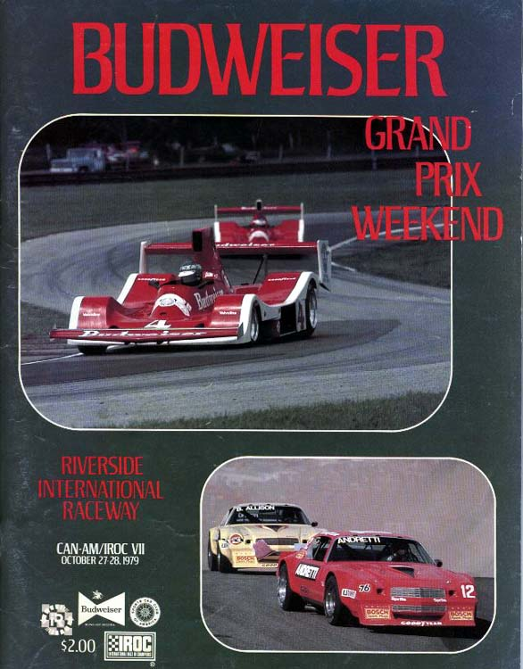 Mid Ohio Sportscar Course >> 1979 Canadian-American Challenge Cup (Can-Am) Programmes ...