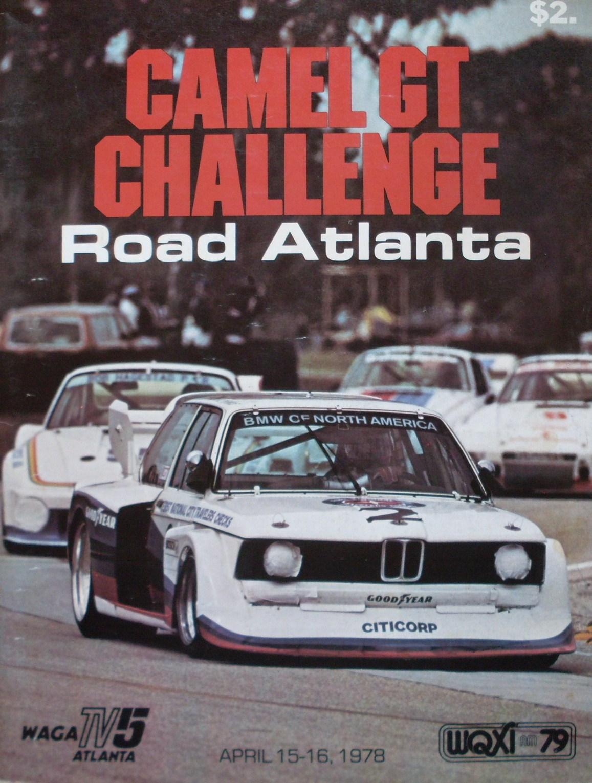 1978 Imsa Gt Championship Programmes The Motor Racing