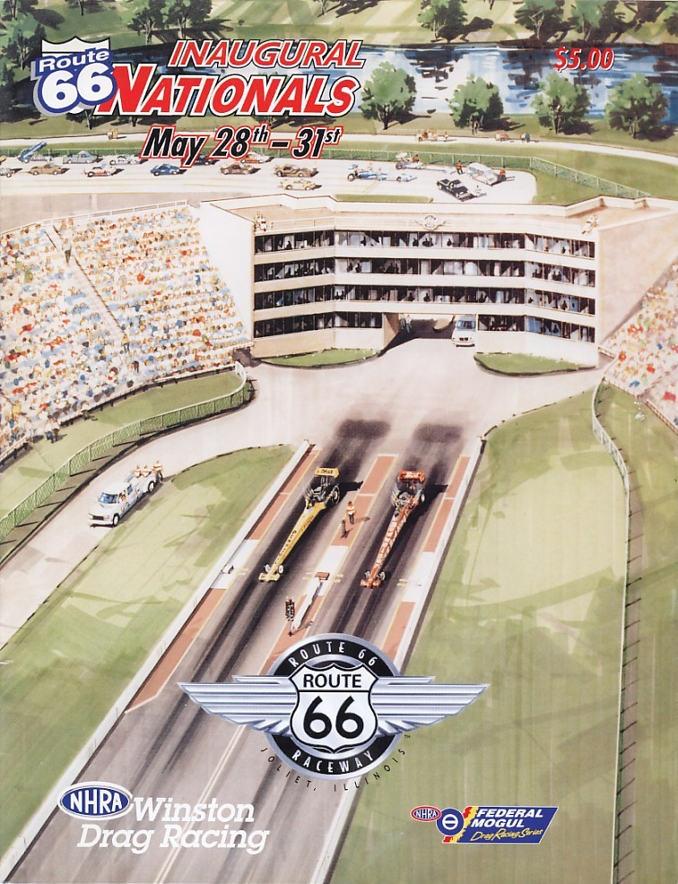 Route 66 Raceway The Motor Racing Programme Covers Project