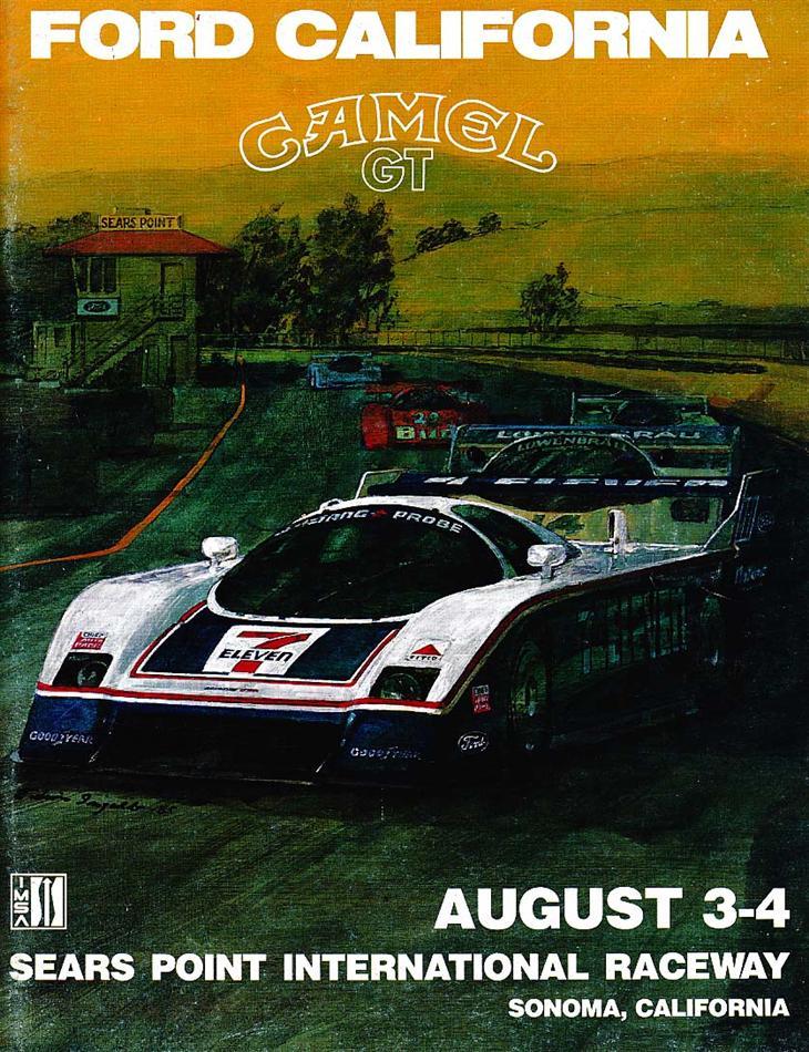 Mid Ohio Sportscar Course >> 1985 IMSA GT Championship Programmes | The Motor Racing ...