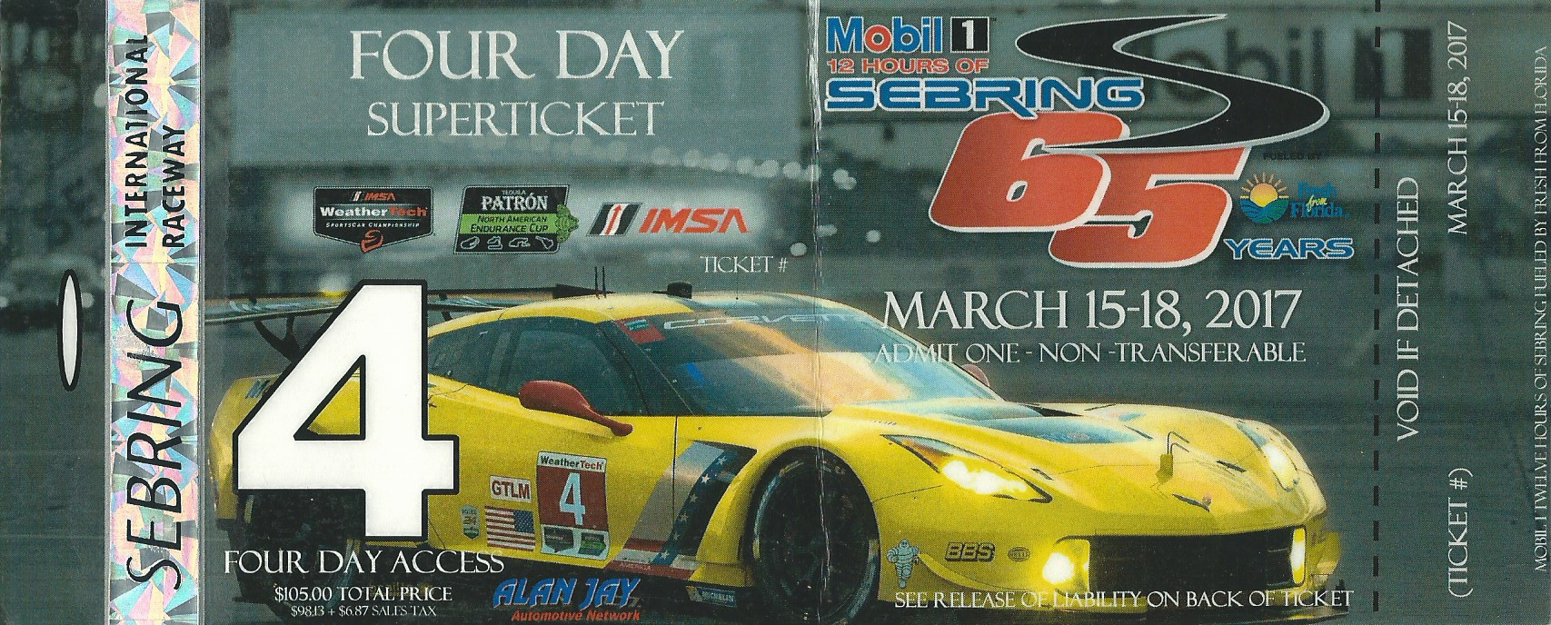 Tickets Badges And Passes The Motor Racing Programme