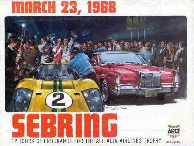1968 Trans Am Series Programmes The Motor Racing