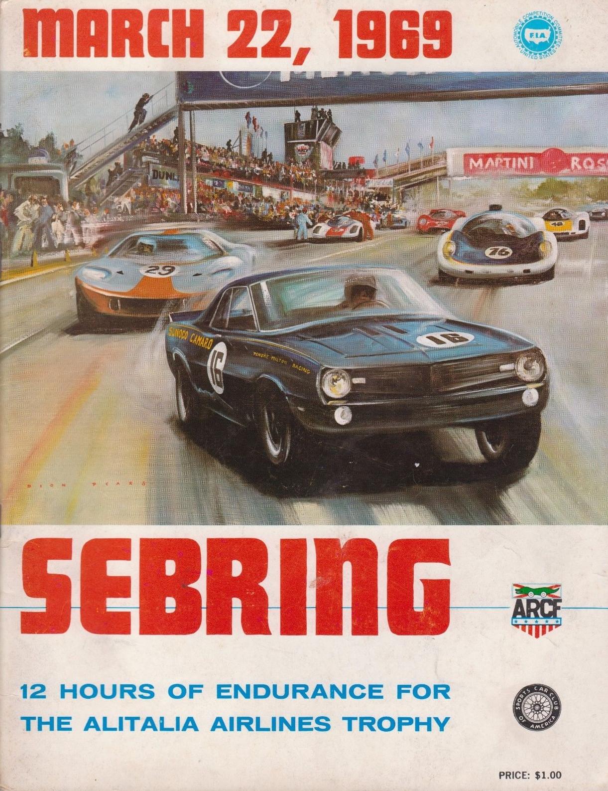 1969 World Sportscar Championship Programmes The Motor