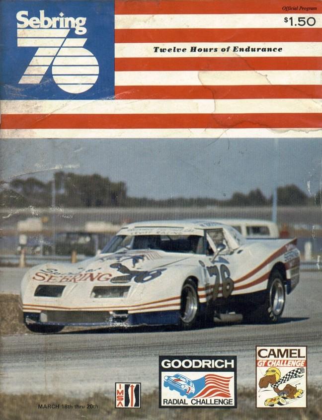 1976 Imsa Gt Championship Programmes The Motor Racing