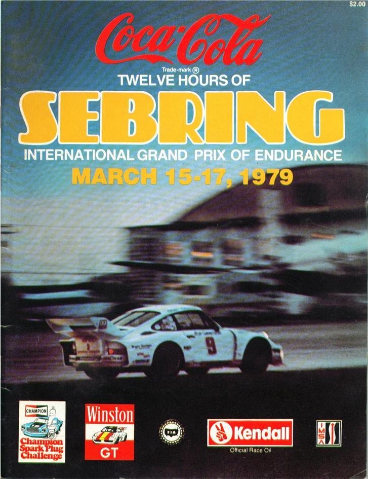 1979 Imsa Gt Championship Programmes The Motor Racing