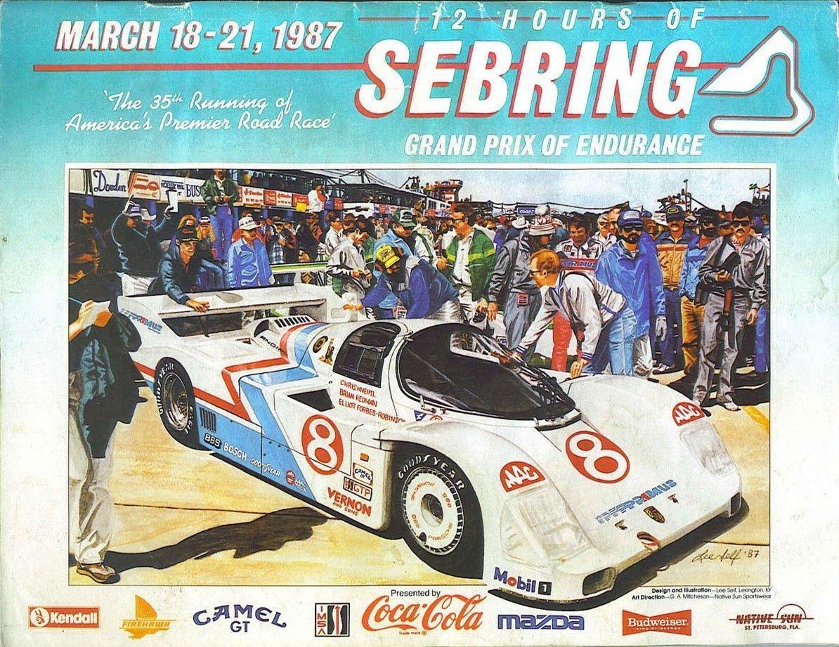 1987 Imsa Gt Championship Programmes The Motor Racing