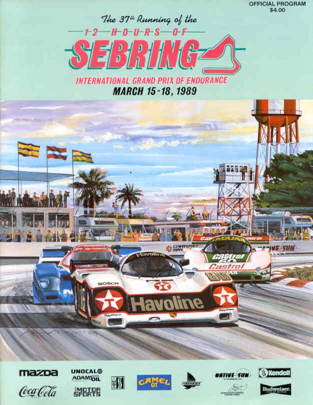 1989 Imsa Gt Championship Programmes The Motor Racing