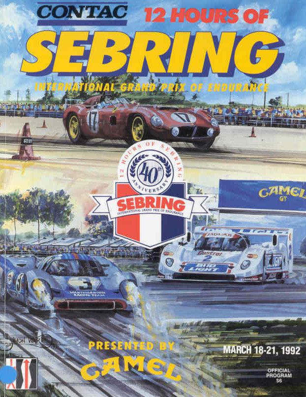 1992 Imsa Gt Championship Programmes The Motor Racing