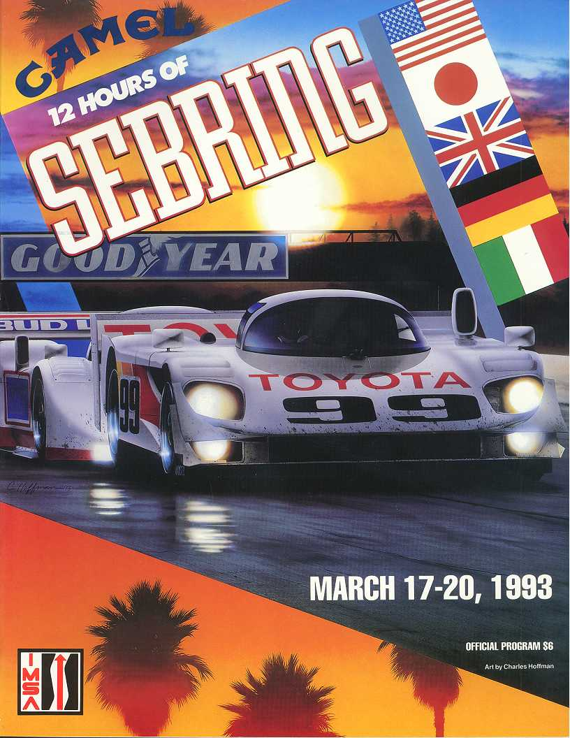 1993 Imsa Gt Championship Programmes The Motor Racing