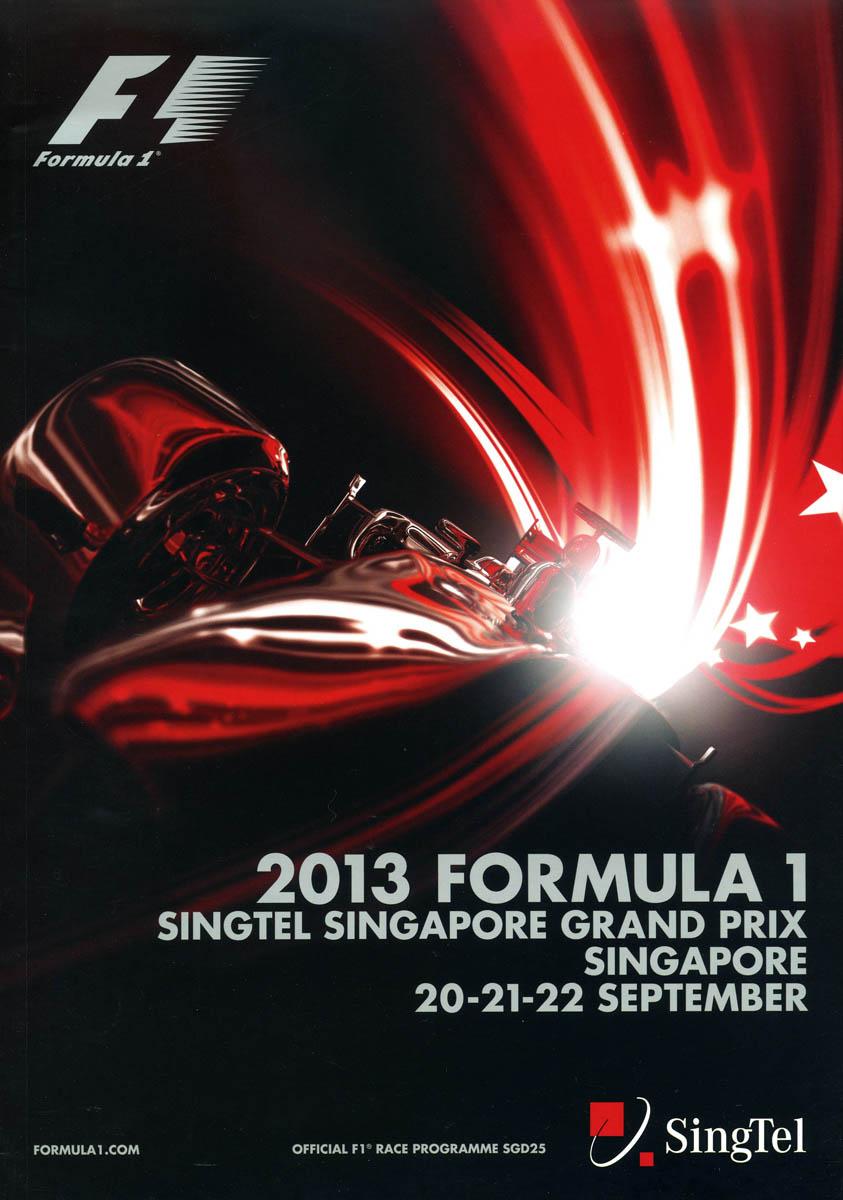 Singapore Marina Bay The Motor Racing Programme Covers