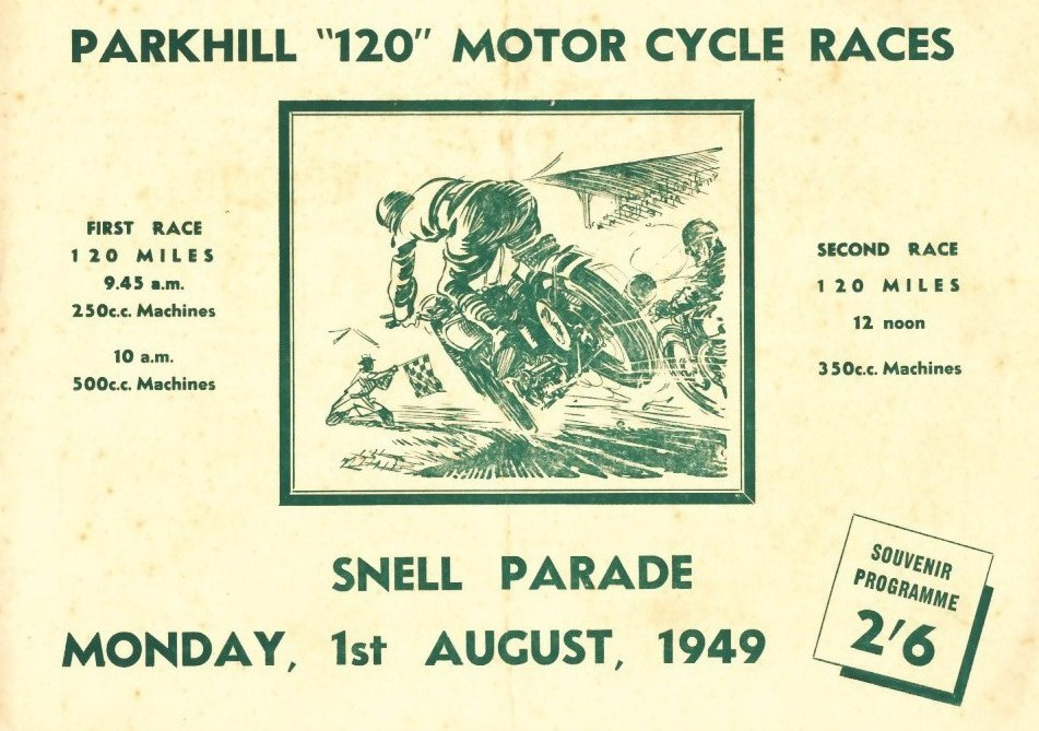 Snell Parade The Motor Racing Programme Covers Project