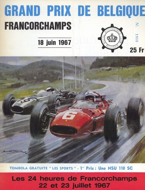 1967 formula 1 world championship programmes the motor racing programme covers project. Black Bedroom Furniture Sets. Home Design Ideas