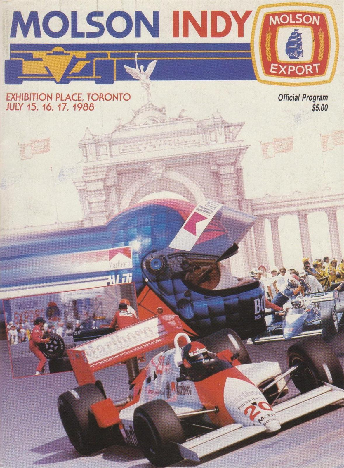 1988 CART Series Programmes | The Motor Racing Programme Covers ...