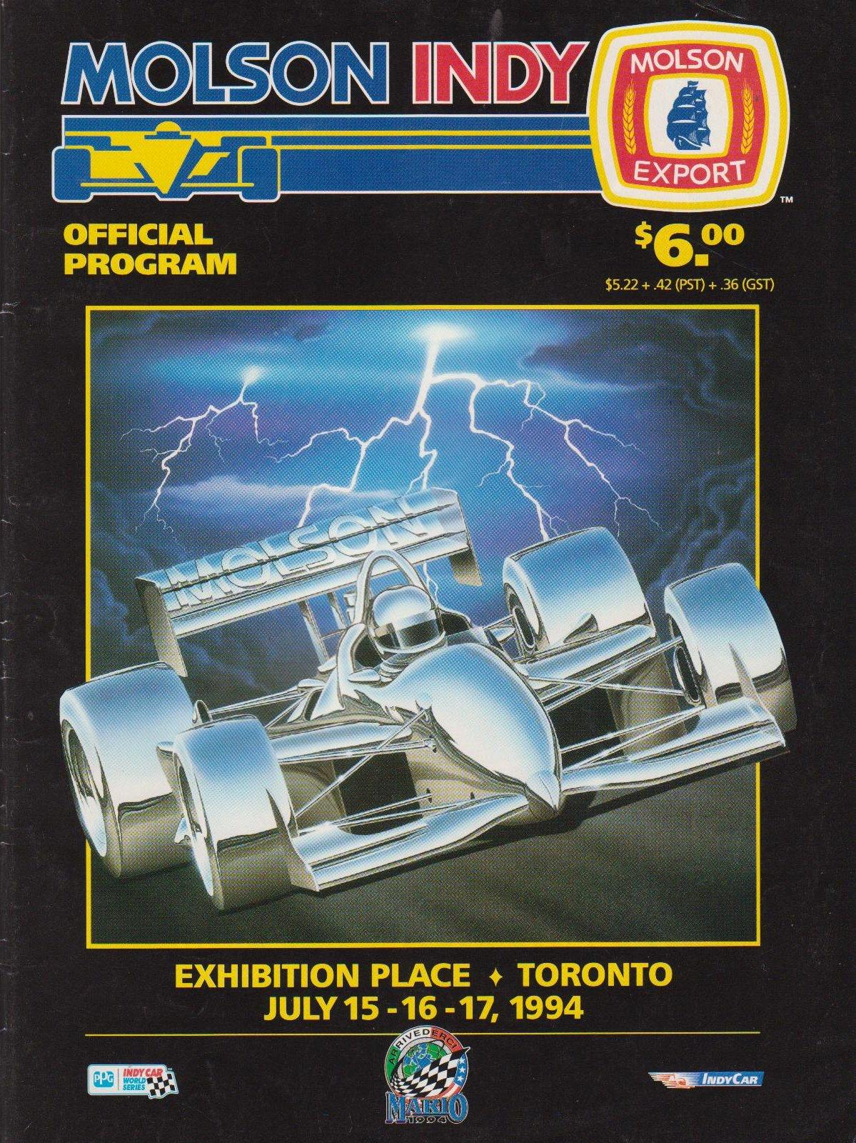Mid Ohio Raceway >> 1994 CART Series Programmes | The Motor Racing Programme Covers Project