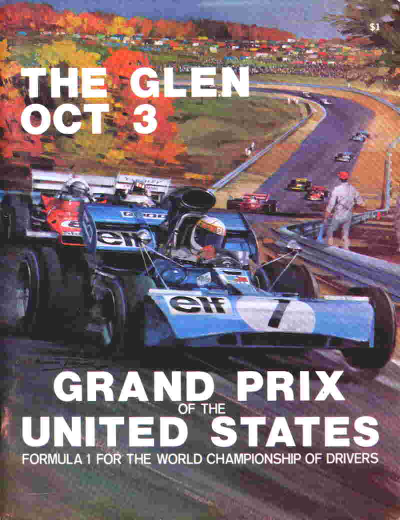 1971 Formula 1 World Championship Programmes | The Motor Racing Programme Covers Project