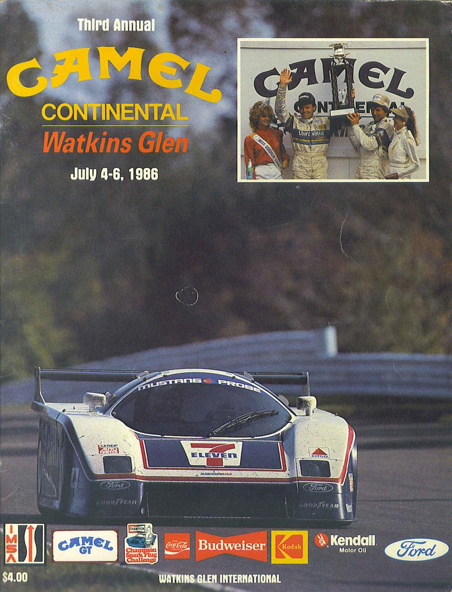 Mid Ohio Raceway >> 1986 IMSA GT Championship Programmes | The Motor Racing Programme Covers Project
