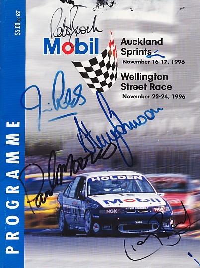 Wellington Street Circuit The Motor Racing Programme
