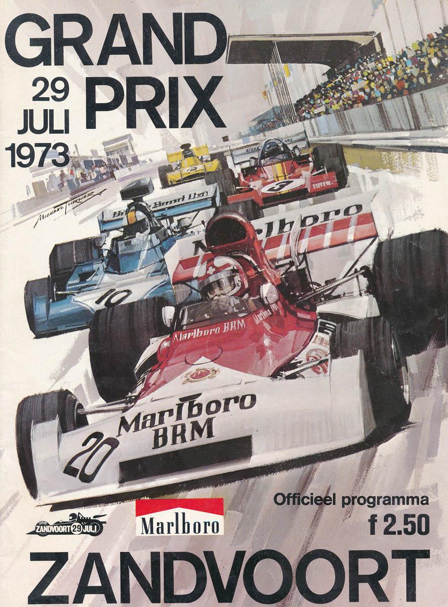 Grand Prix Racing >> 1973 Formula 1 World Championship Programmes | The Motor Racing Programme Covers Project