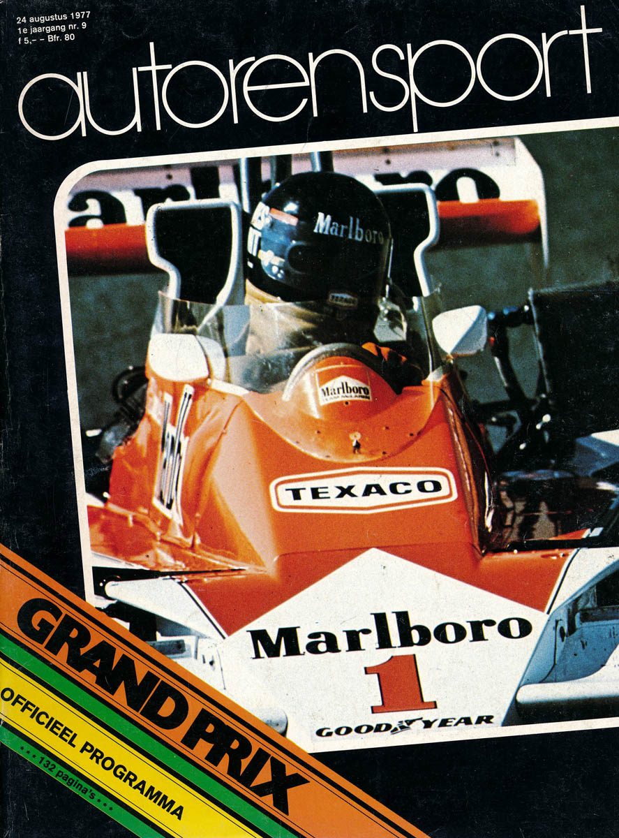 American Racing 2 >> 1977 Formula 1 World Championship Programmes | The Motor ...