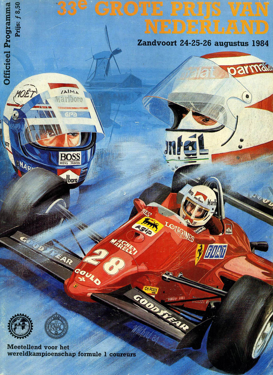 Can Am Car >> 1984 Formula 1 World Championship Programmes | The Motor Racing Programme Covers Project