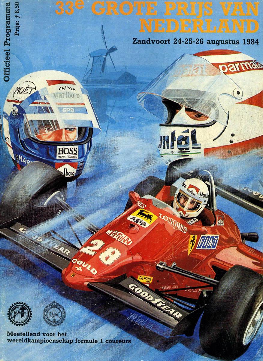 Can Am Car >> 1984 Formula 1 World Championship Programmes   The Motor ...