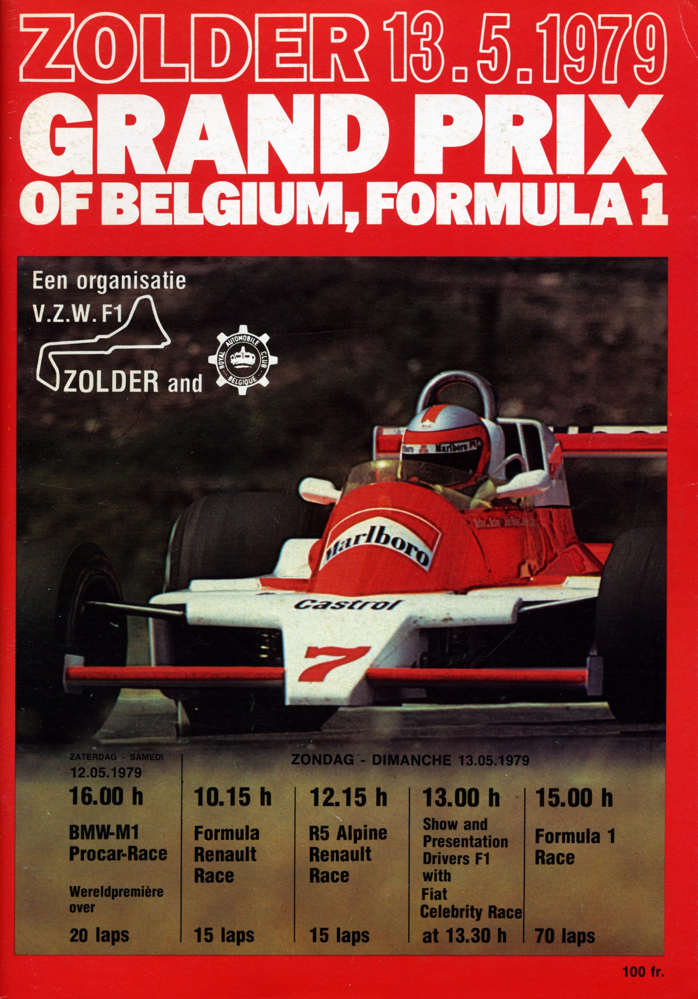 1979 Formula 1 World Championship Programmes